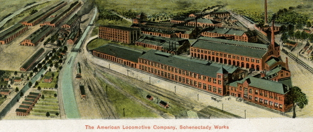 American Locomotive Works Scenectady 1908