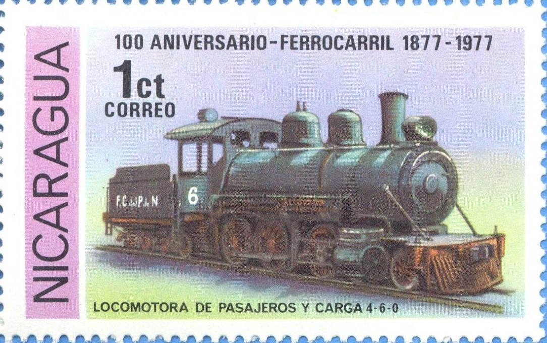 locomotive # 6 Stamp