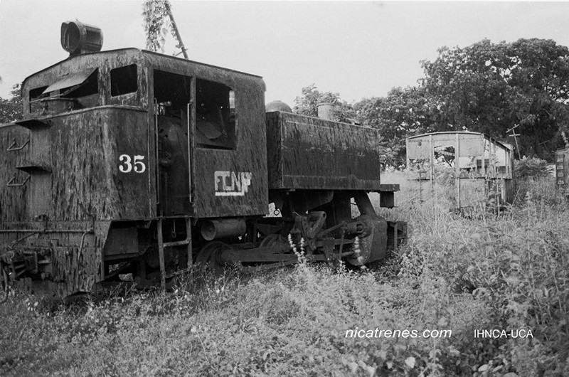 Locomotor No.35 Nicaragua old & out of service