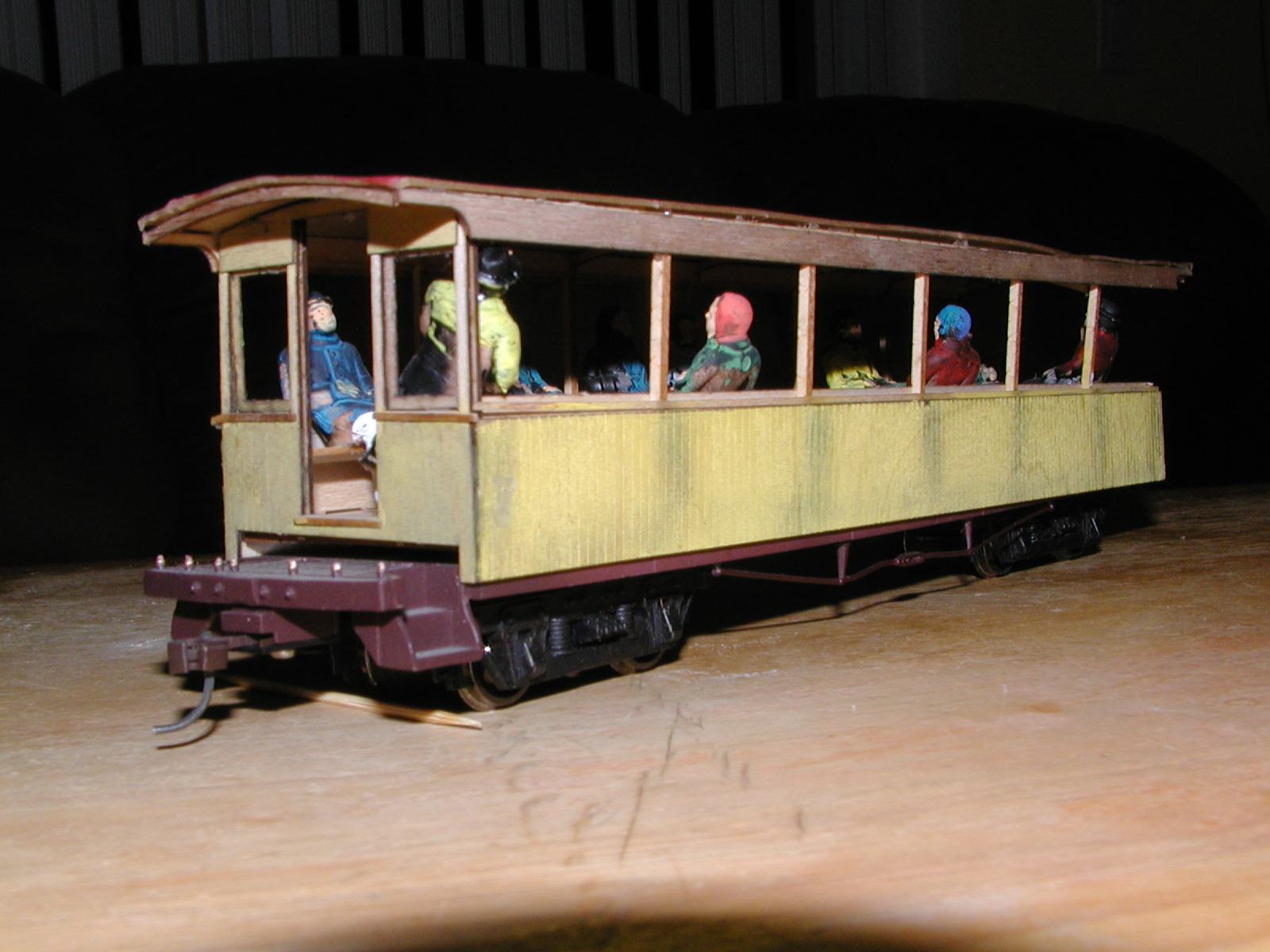 Norman's Train Model of a 3rd Class Passenger Car