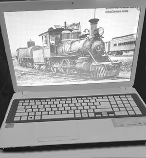 my laptop with loco8